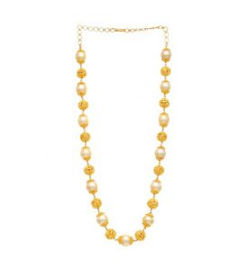 Buy Gold Beaded Necklace