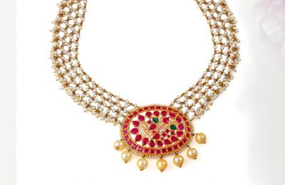 Buy Pearl Necklace Online at Krishna Pearls